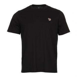 Paul Smith Zebra Logo T-Shirt PUPD-011R-ZEBRA-79 Black