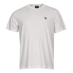 Paul Smith Logo T-Shirt White PTPD 011R ZEBRA 01