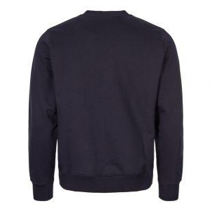 Zebra Sweatshirt - Navy