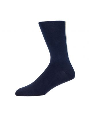 Paul Smith Stripe Socks | M1A 194B AK170 47 Navy