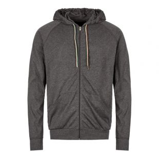 Paul Smith Sleepwear Zipped Hoodie M1A|500D|AU279|76 In Slate Grey At Aphrodite Clothing