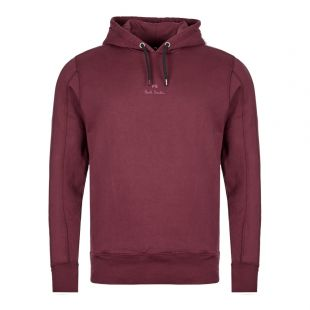 Paul Smith Hoodie | M2R 613T A20704 28 Burgundy