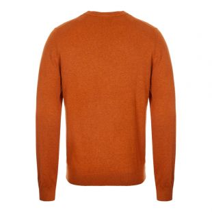 Knitted Sweatshirt - Hazel / Rust