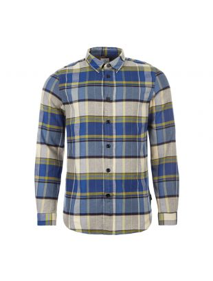 Paul Smith Shirt | M2R 599R A20767 45 Cobalt Blue