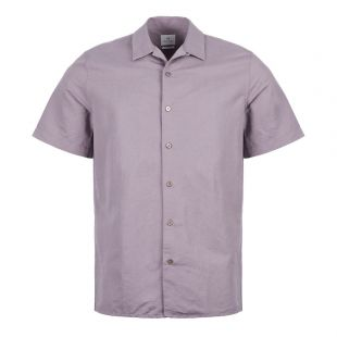 paul smith short sleeve shirt M2R 0114R A20641 53 purple
