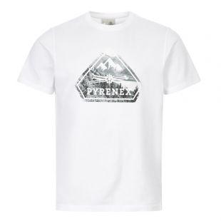 Pyrenex T-Shirt Larriou | White HMN010 1000 | Aphrodite