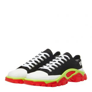 Detroit Runner Sneaker - Black/Lime/Red