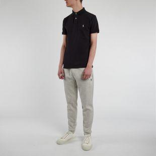 Slim Fit Polo Shirt - Black