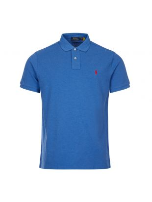 Ralph Lauren Custom Slim Fit Polo Shirt | Blue