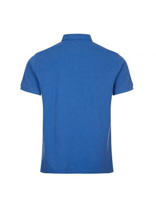 Custom Slim Fit Polo Shirt - Blue