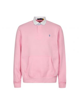 Ralph Lauren Long Sleeve Rugby Shirt | Pink