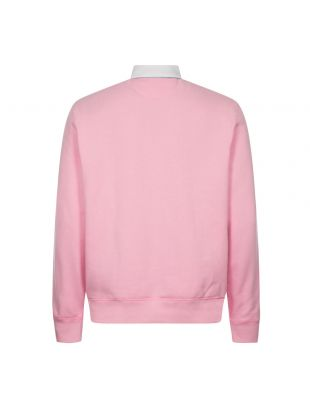 Long Sleeve Rugby Shirt - Pink