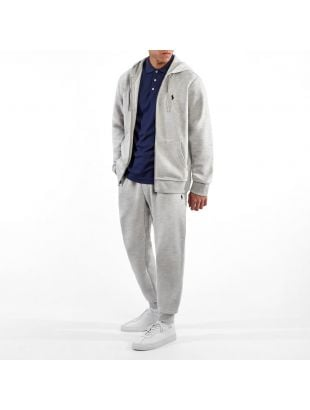 Zip Up Hoodie - Heather Grey