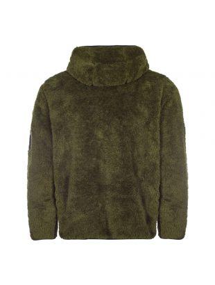 Zipped Hooded Fleece - Olive
