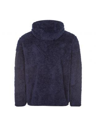 Zipped Hooded Fleece - Navy