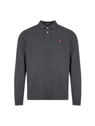 Ralph Lauren Long Sleeve Polo | 710680790 045 Black | Aphrodite