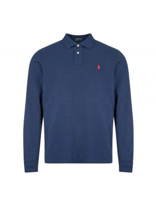 Ralph Lauren Long Sleeve Polo | 710680790 046 Red | Aphrodite