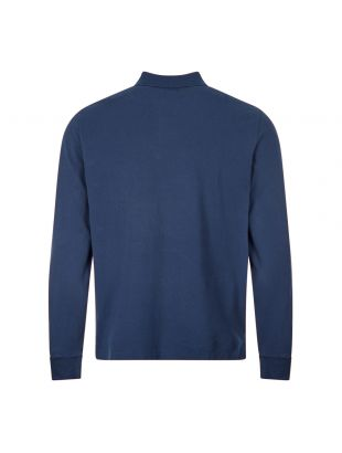 Long Sleeve Polo - Dark Blue