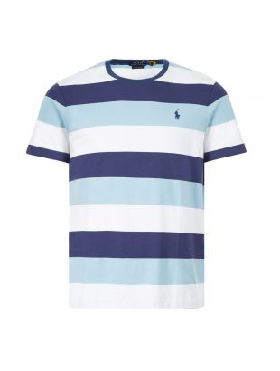 Ralph Lauren T-Shirt Stripe | 710803535 001 Navy / White / Blue | Aphrodite