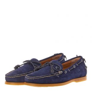 Millard Boat Shoes - Navy