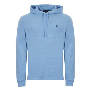 Ralph Lauren Sweatshirt Hooded 710790573 005 Blue