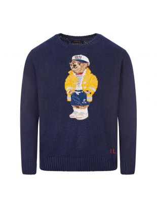 Ralph Lauren Jumper Bear Navy 710786686 001