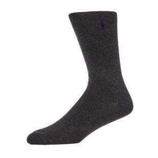 3 Pack Rugby Socks – Grey / Navy