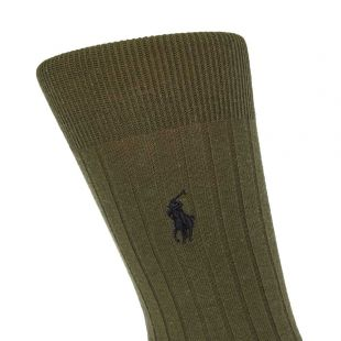 3 Pack Socks – Olive / Black / Grey
