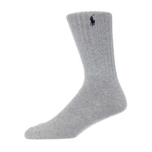 Ralph Lauren 3 Pack Socks | 449799737 003 Blue / Grey / Lavender
