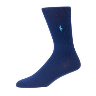 Ralph Lauren socks 449653754 008 in Blue/Blue/Navy