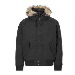 Ralph Lauren Bomber Jacket | 710756920 003 Black