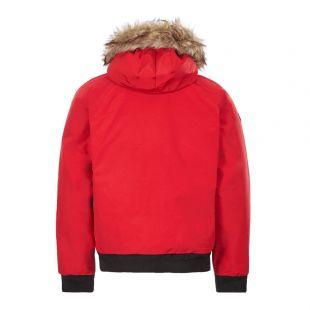 Bomber Jacket – Red