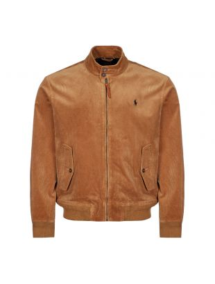 Ralph Lauren Jacket Stretch Corduroy | Tan