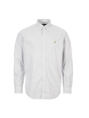 Ralph Lauren Shirt Button Down | 710784298 017 Grey / White
