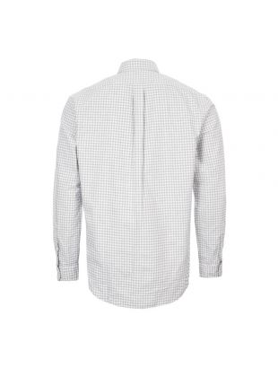 Shirt Button Down – Grey / White