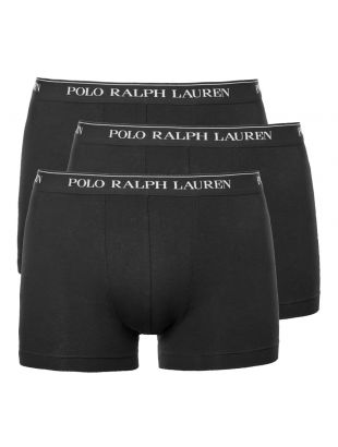 3 Pack Trunks - Black
