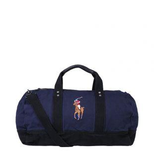 Ralph Lauren Big Pony Duffle Bag 405688143 002 Navy
