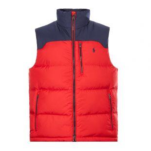 Ralph Lauren Gilet El Cap | 710758736 005 Red