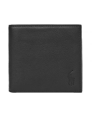 Ralph Lauren Billfold Wallet | 405526127 002 Pebbled Black
