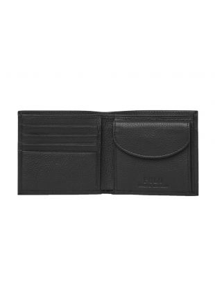 Billfold Wallet – Pebbled Black