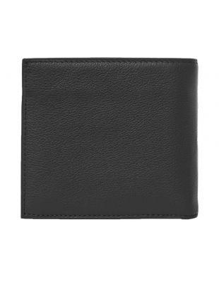 Billfold Wallet – Pebbled Black