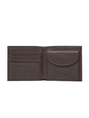 Billfold Wallet – Pebbled Brown