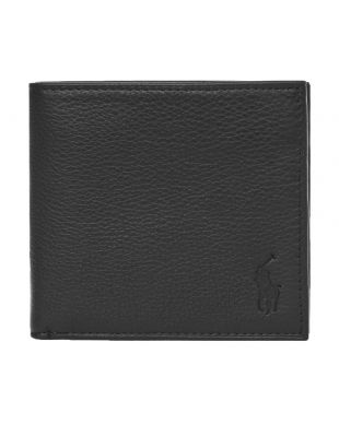 Ralph Lauren Billfold Wallet Debossed | 405526310 003 Black
