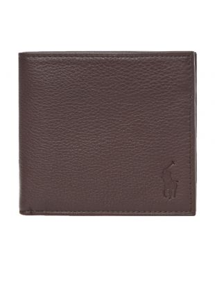 Ralph Lauren Billfold Wallet Debossed | 405526310 002 Brown