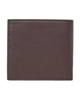 Billfold Wallet Debossed – Brown