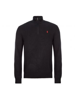 Ralph Lauren Half Zip Sweater | 710701611 004 Black