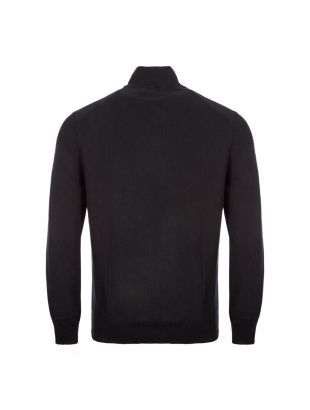 Half Zip Sweater – Black