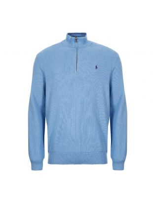 Ralph Lauren Half Zip Sweater | 710701611 030 Blue