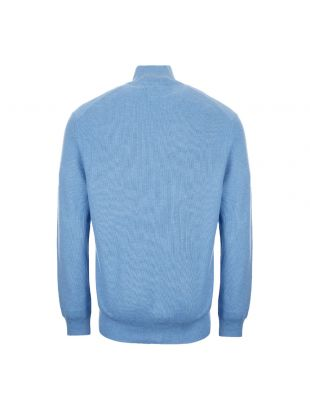 Half Zip Sweater – Blue