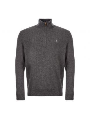 Ralph Lauren Half Zip Sweater | 710723053 003 Grey